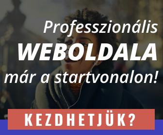 Weblap készítés banner