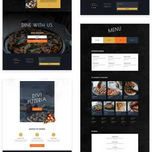divi sablon pizzeria layout