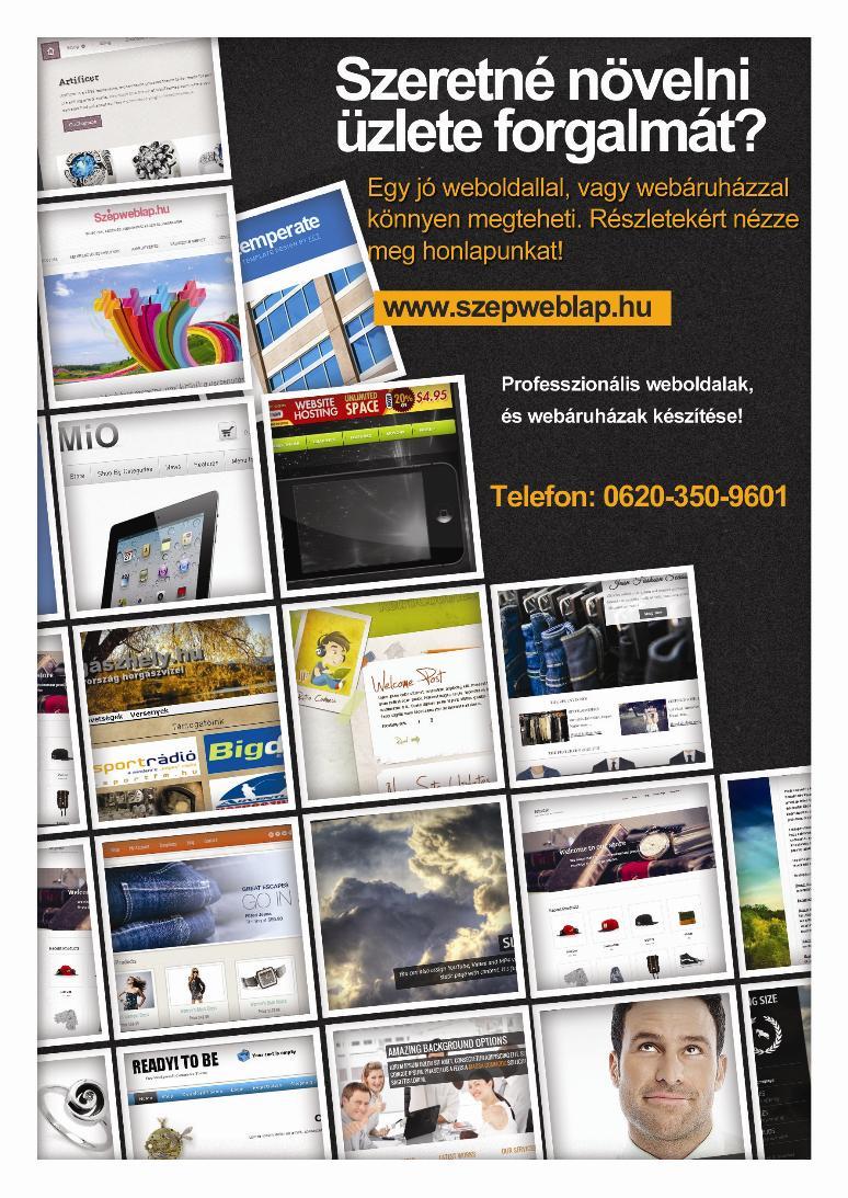 Szépweblap.hu – Szórólap, Flyer