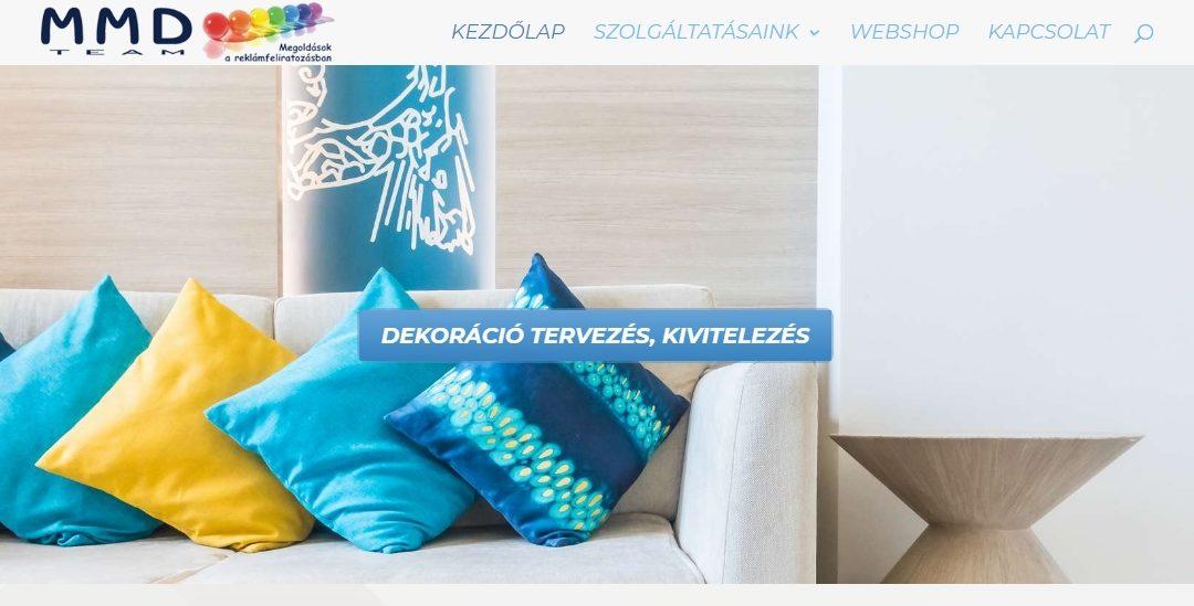 Weblap referencia: Dekoralas.mmd.hu
