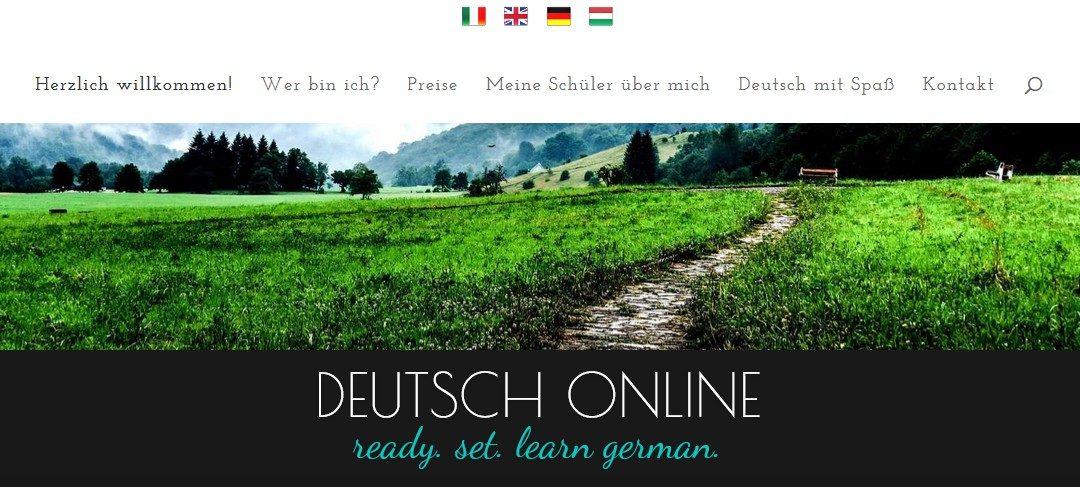 Weblap készítés referencia: German-online.eu