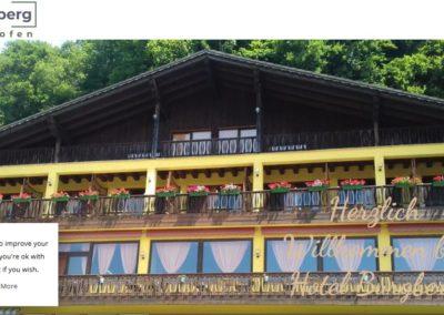 Weblap referencia: Hotelburgberg.com