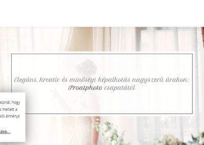 Weblap készítés referencia: Eskuvoi-fotografus.hu